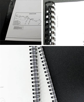 Document binding services
